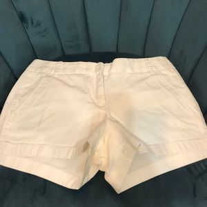 J Crew Chino Short White size 4 & 6